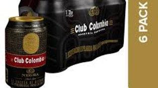 CERV CLUB NEGRA LATA X6UND 355ML CLUB COLOMBIA