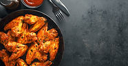 chicken-wings-grilled-in-sauce-on-pan-34