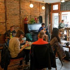 Alvaro at Depanneur Café, Montréal