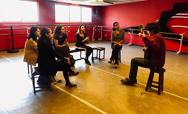 Flamenco singing class