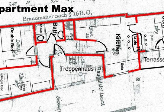 Grundriss Apartment Max
