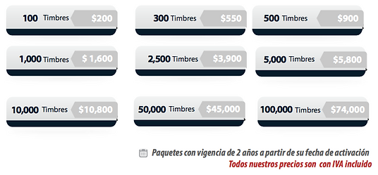 FEL facturacion Timbrado CFDI 3.3