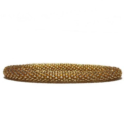 Roll on armbånd guld 210
