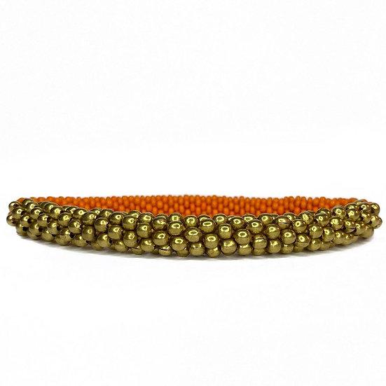 Roll on armbånd orange