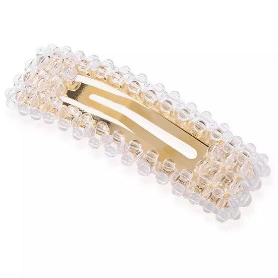Hårspænde med perler