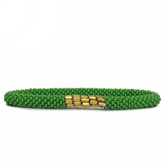 Roll on armbånd grøn