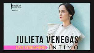 Julieta Venegas presenta su primer concierto privado en streaming