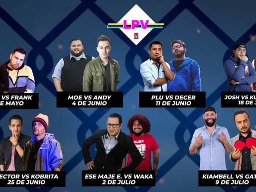 Primer torneo de lucha comedia online en Guatemala