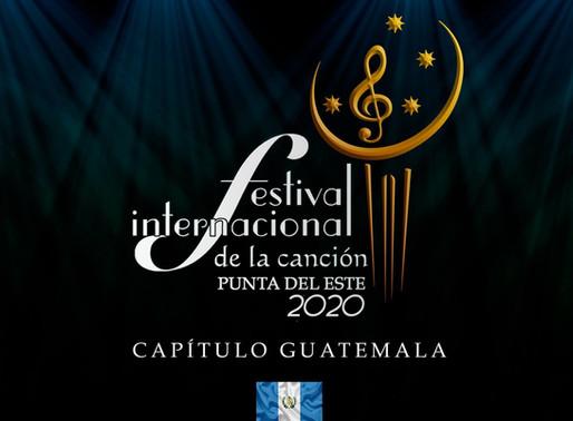 Festival Internacional de la Canción Punta del Este Guatemala: conoce a los finalistas