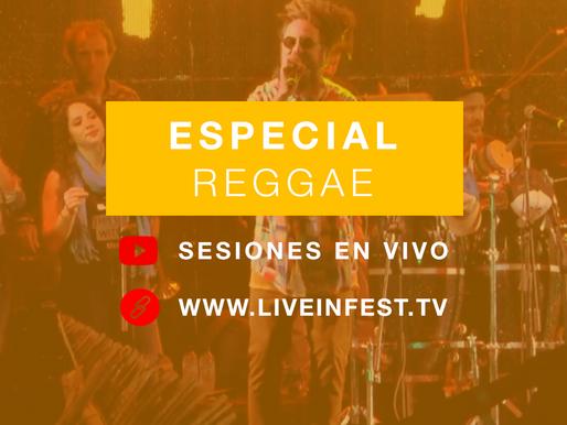 Especial Live in Fest Reggae: nuestras mejores sesiones grabadas en vivo