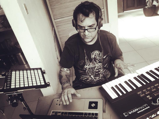 """Pablo León """"Mae"""" desde el estudio"""