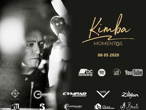 """Kimba presenta """"Momentos"""" una producción dedicada a su experiencia en la batería"""