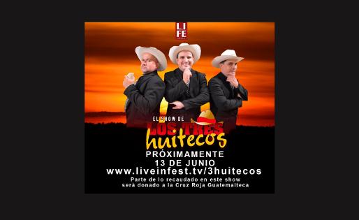 El show de Los Tres Huitecos Online
