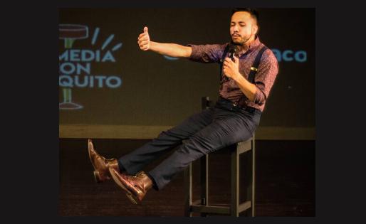 Juancho Carbono: me gustar estar  frente a muchas personas y usar mis técnicas para hacerlas reír