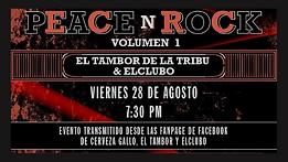El Clubo y El tambor de la tribu juntos en concierto online