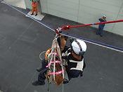 ロープ降下訓練