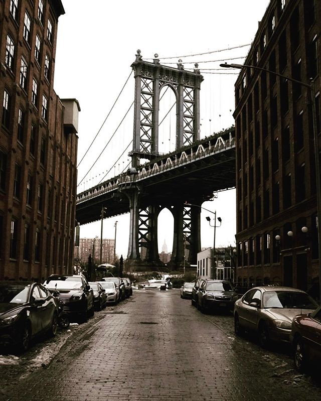 Manhattan bridge designed by Othniel Foster Nichols from 1901-1912. ❤_. ._._._._