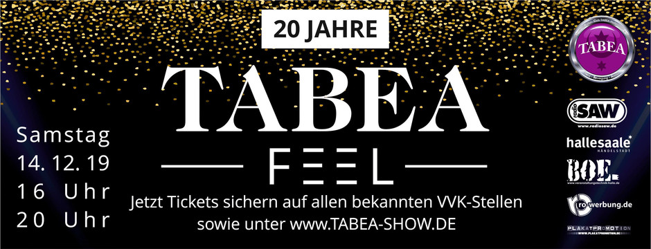 "200. Jubiläums-Show: ""TABEA – FEEL"""