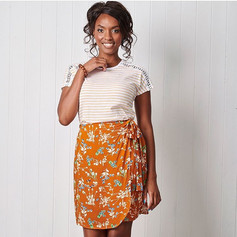 Simply Sewing 57: Wrap skirt project