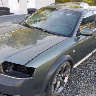 10.000 kr. Audi A6 allroad Rep.objekt/delebil.Komplett. Les annonsen
