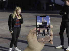 Music Week: O2 presents Michael Bublé in augmented reality