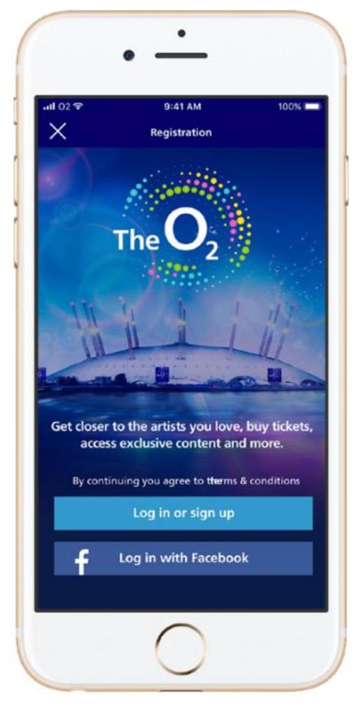 O2 Arena App