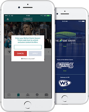 Belfast Giants app