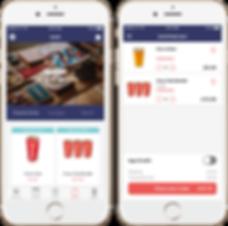 Drive repeat custom through mobile app