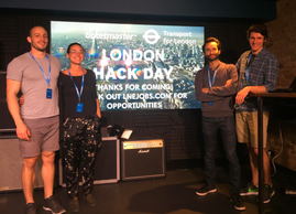 LiveStyled Win the Ticketmaster & TFL London Hack Day 2017