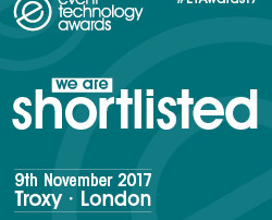 LiveStyled are Shortlisted for the Event Technology Awards 2017