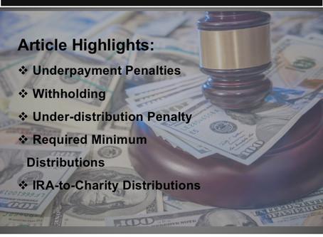 Tips to Avoid 2019 Tax Penalties