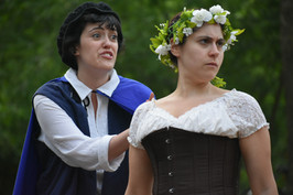 As You Like It - Phebe & Rosalind