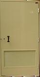 Porte ENEDIS ERDF pour local transfo, poste, norme HN64S34