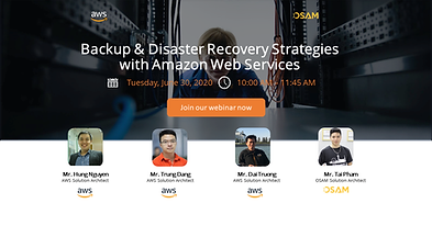 Backup & Disaster Recovery Strategies wi