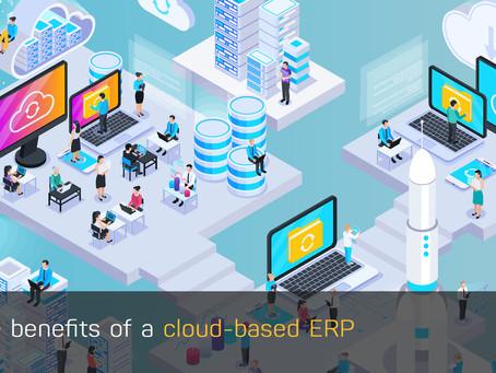Lợi ích của việc triển khai hệ thống ERP trên đám mây (Cloud-based ERP)