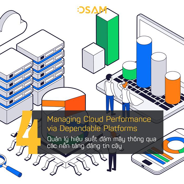 Quản lý hiệu suất đám mây thông qua nền tảng đáng tin cậy