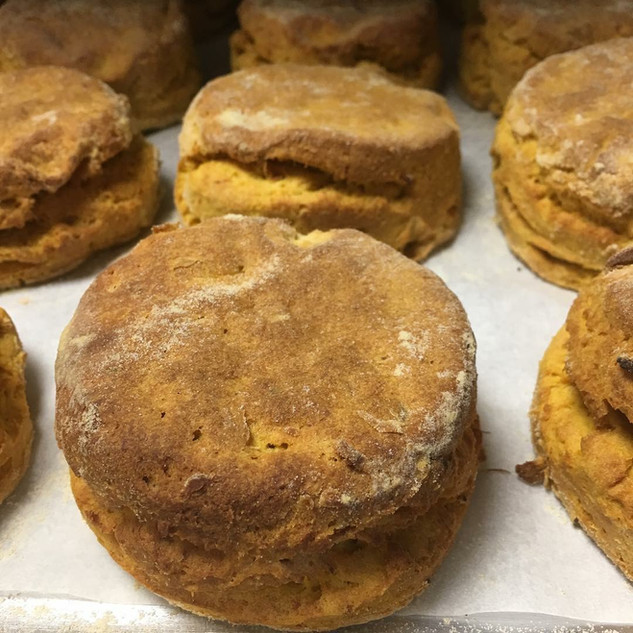 Sweet Potato Biscuit (GF,V)