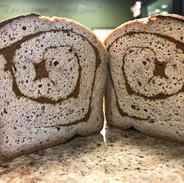 Keto Cinnamon Bread(K,GRF,DF)