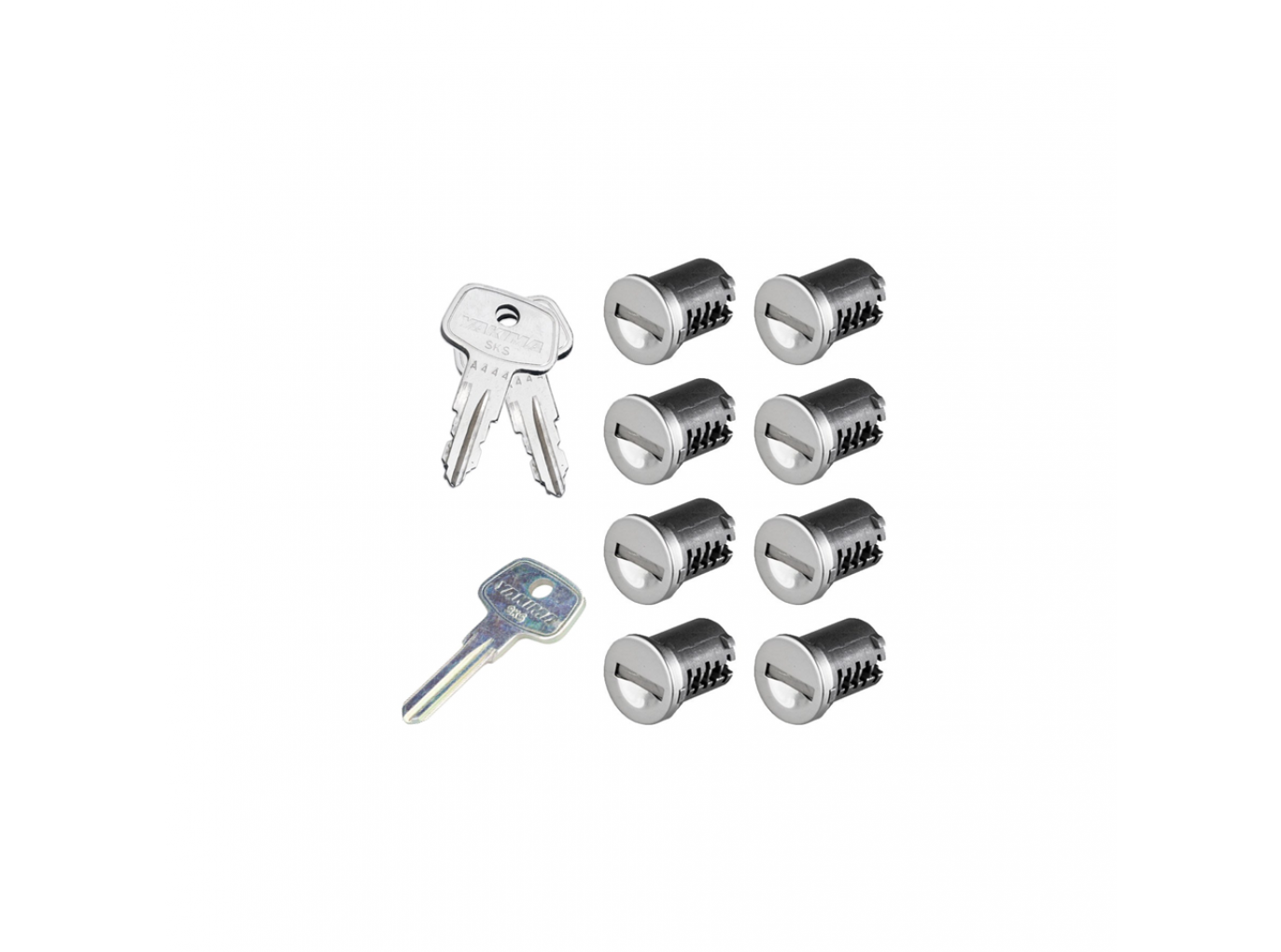 SKS Lock Cores with Keys