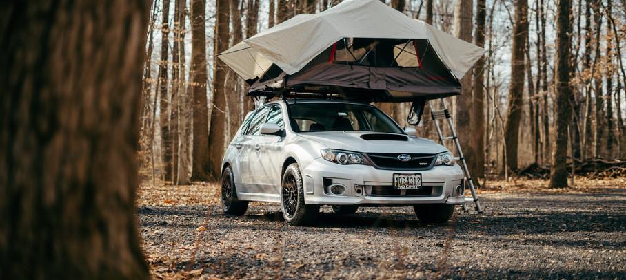 Shinny New Tent