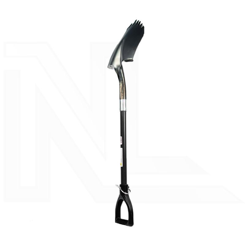 Raw Steel Super Shovel
