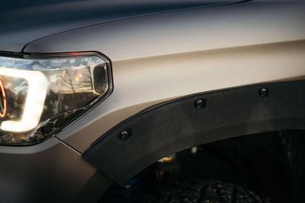 Toyota Tundra Matte Satin Grey Wrap