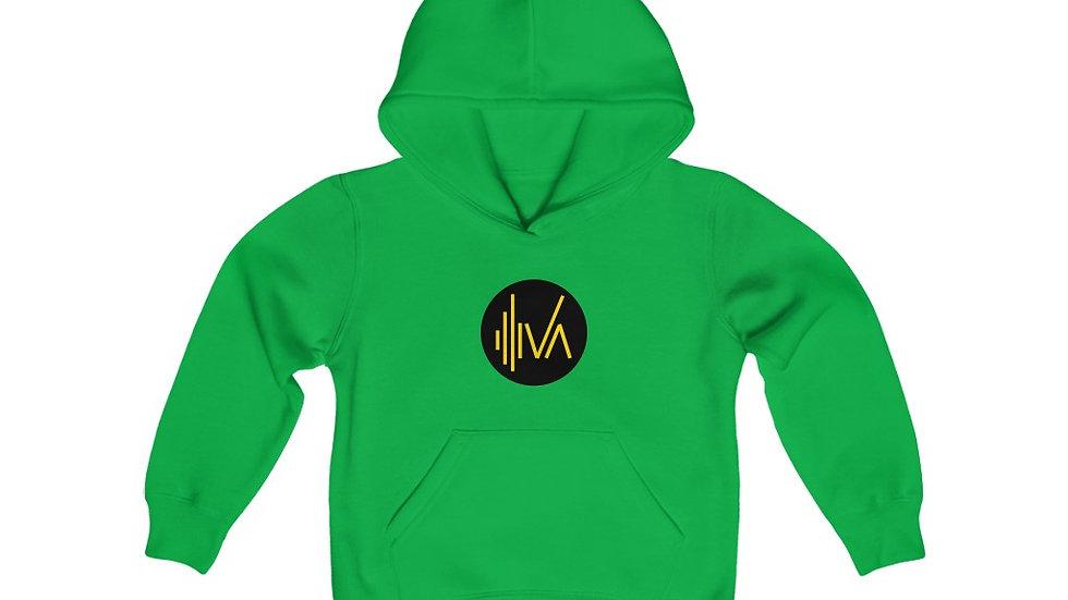 Iva Logo Unisex Kids Hoodie