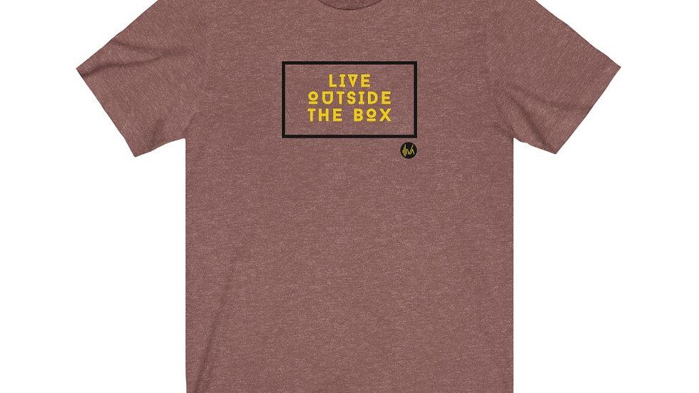 Live Outside the Box Unisex T