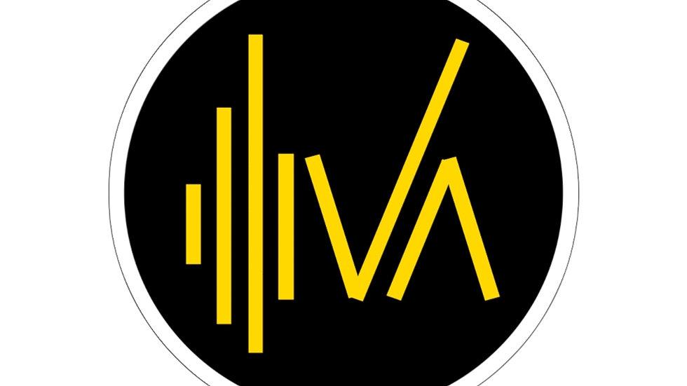 Iva Logo Sticker