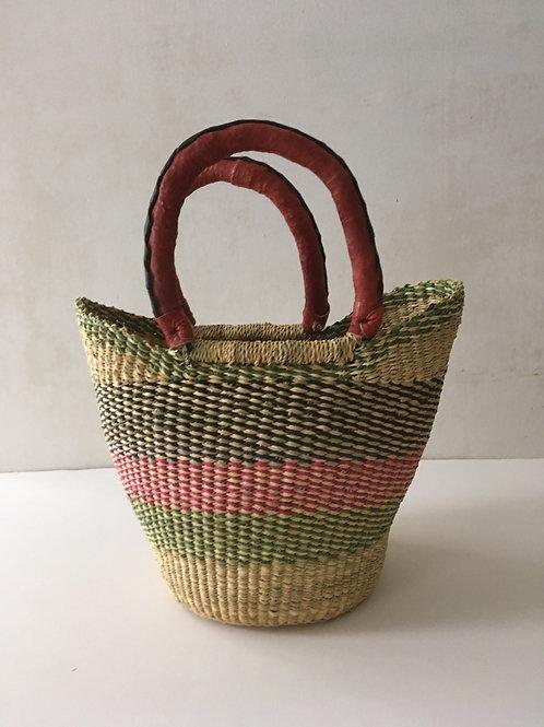 African Market Basket  - Small Shopper #121