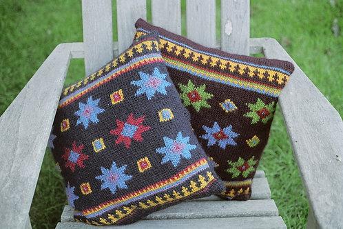 Kazak Star Pillow Pattern