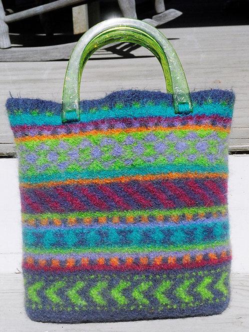 Caribbean Felted Handbag Kit