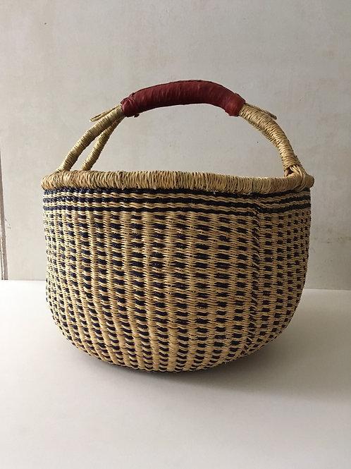 African Market Basket  - Large Round #114