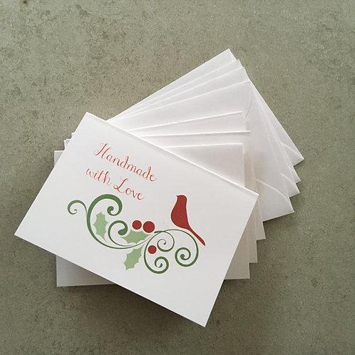 Gift Card Set - Cardinal
